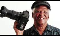 Veteran photographer Dr Peter Magubane won the 2015 Nat Nakasa award.